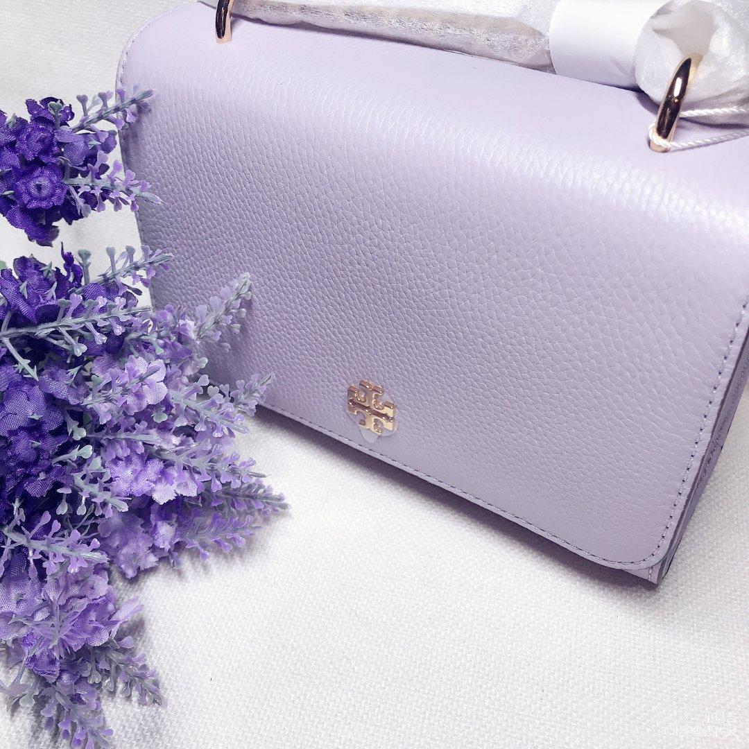 Tory Burch藕荷紫色mini包💕