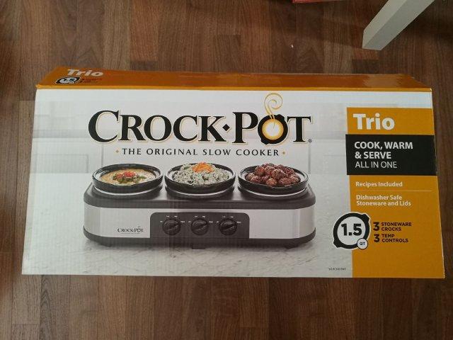 微众测  一锅三吃的Crock-p...