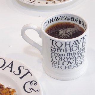 伦敦居家日常 EB的杯子打开一整个美好早...