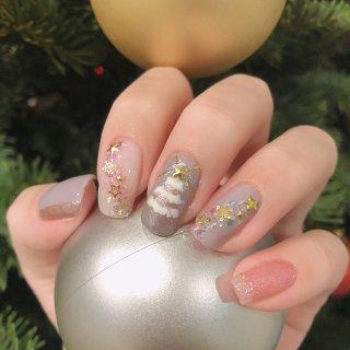 聖誕雪花❄️聖誕樹🎄布靈布靈美甲...
