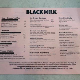 曼城甜品店种草时间—Black Milk...