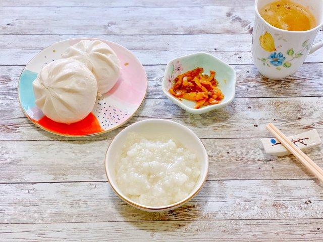 周六早餐 feat嘉嘉狗不理大包