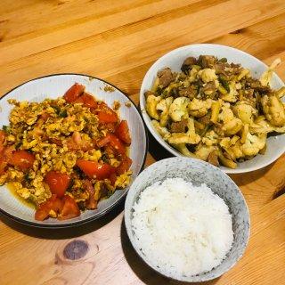 今天吃家常菜!...