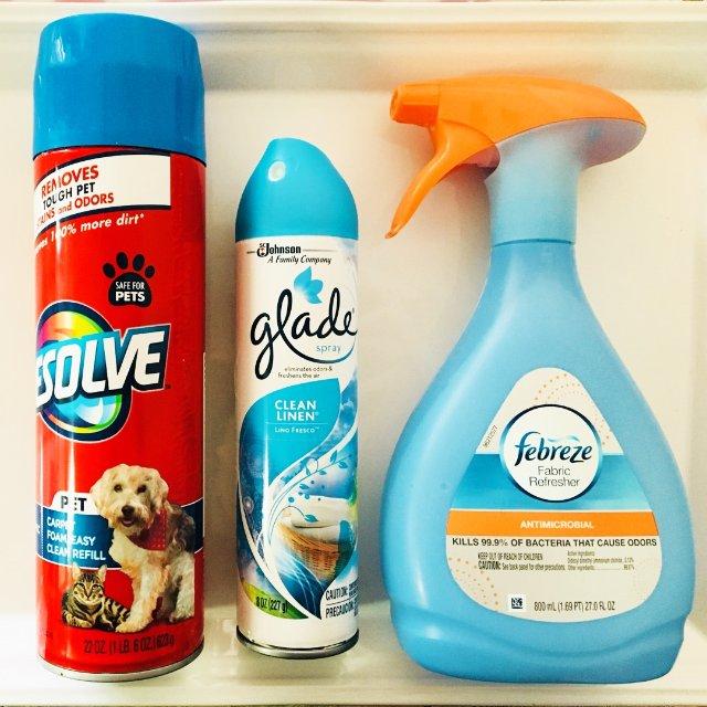 家有爱犬,需要经常使用不同的产品来...