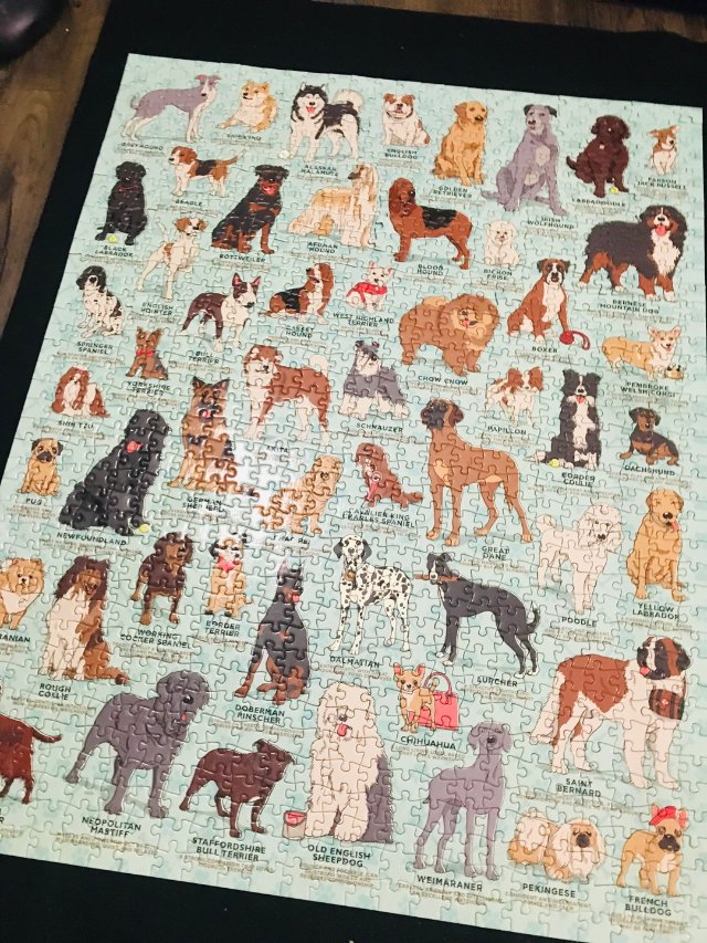 Dog lover最佳拼图🧩(私心...