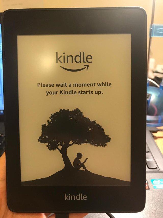 Kindle paperwhite...
