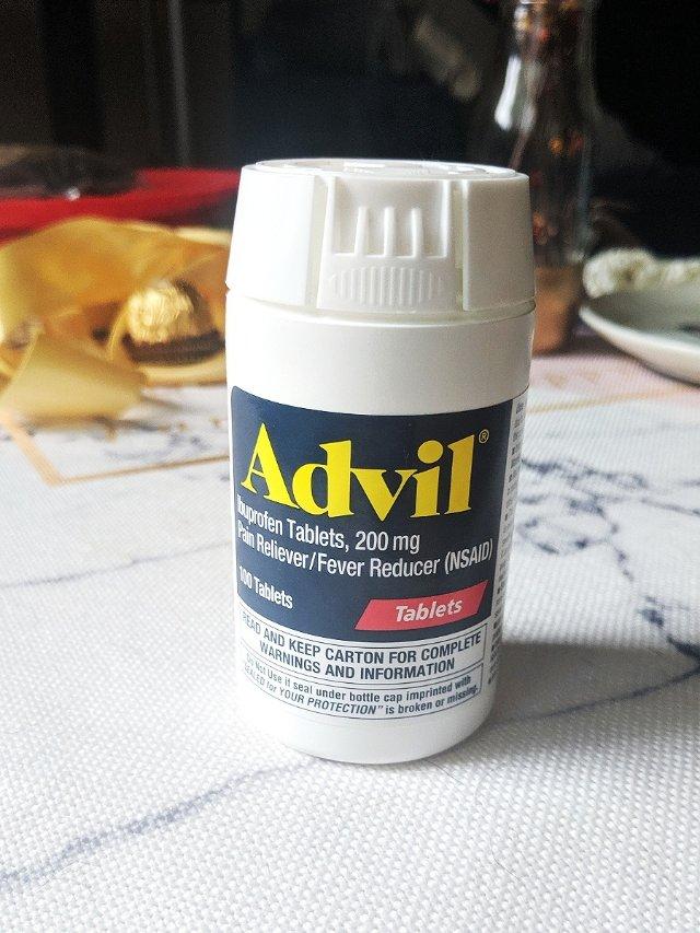 姨妈痛续命神单 | Advil布洛芬