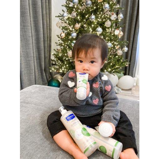 寶寶肌膚專業照護交給Mustela有機系列🌿