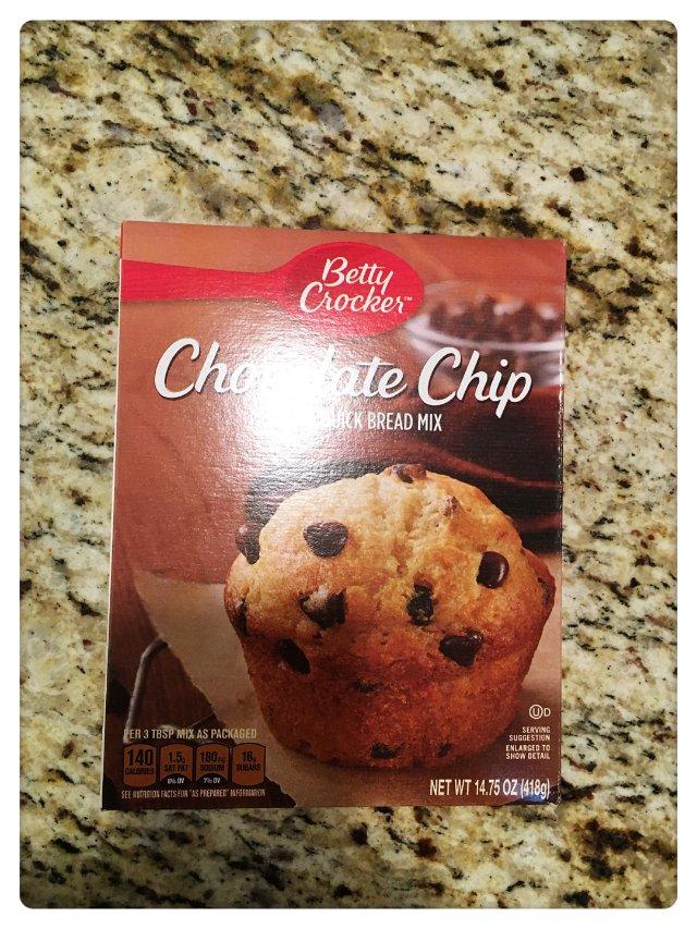 我想尝试这类的muffin粉。我看...