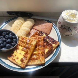 来吃个糖份满满的早餐鸭~~~...