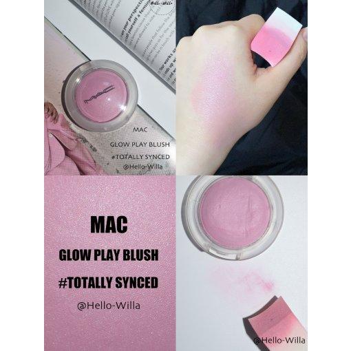 牛奶芋头/Mac透明腮红