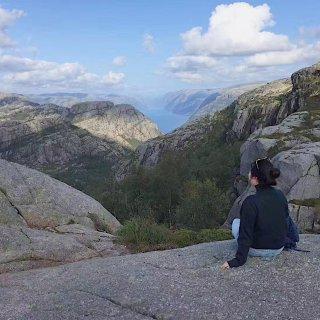 挪威布道石