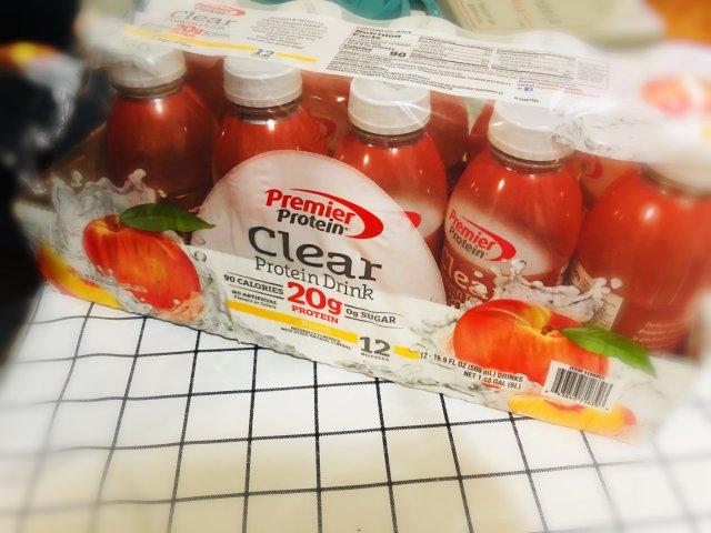 低卡无糖蛋白质补充饮品~~宅家不动...