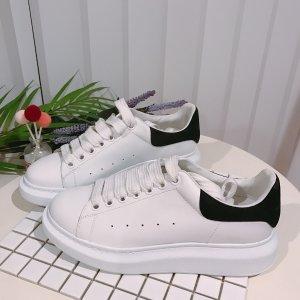 低至4.3折 时尚镭射款$392最后一天:Alexander McQueen 小白鞋 新款厚底$435