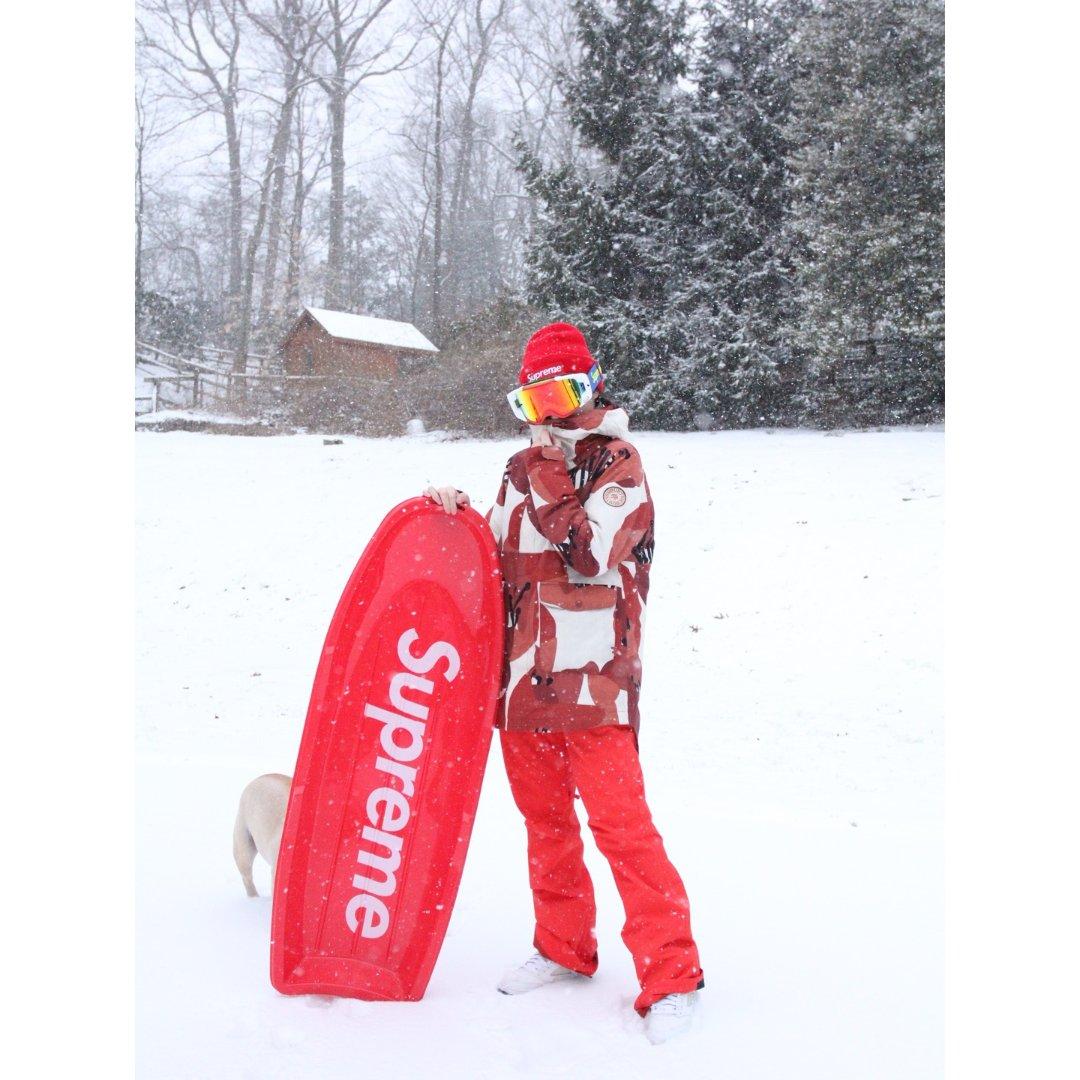 【Supreme】最强玩雪装备🔥
