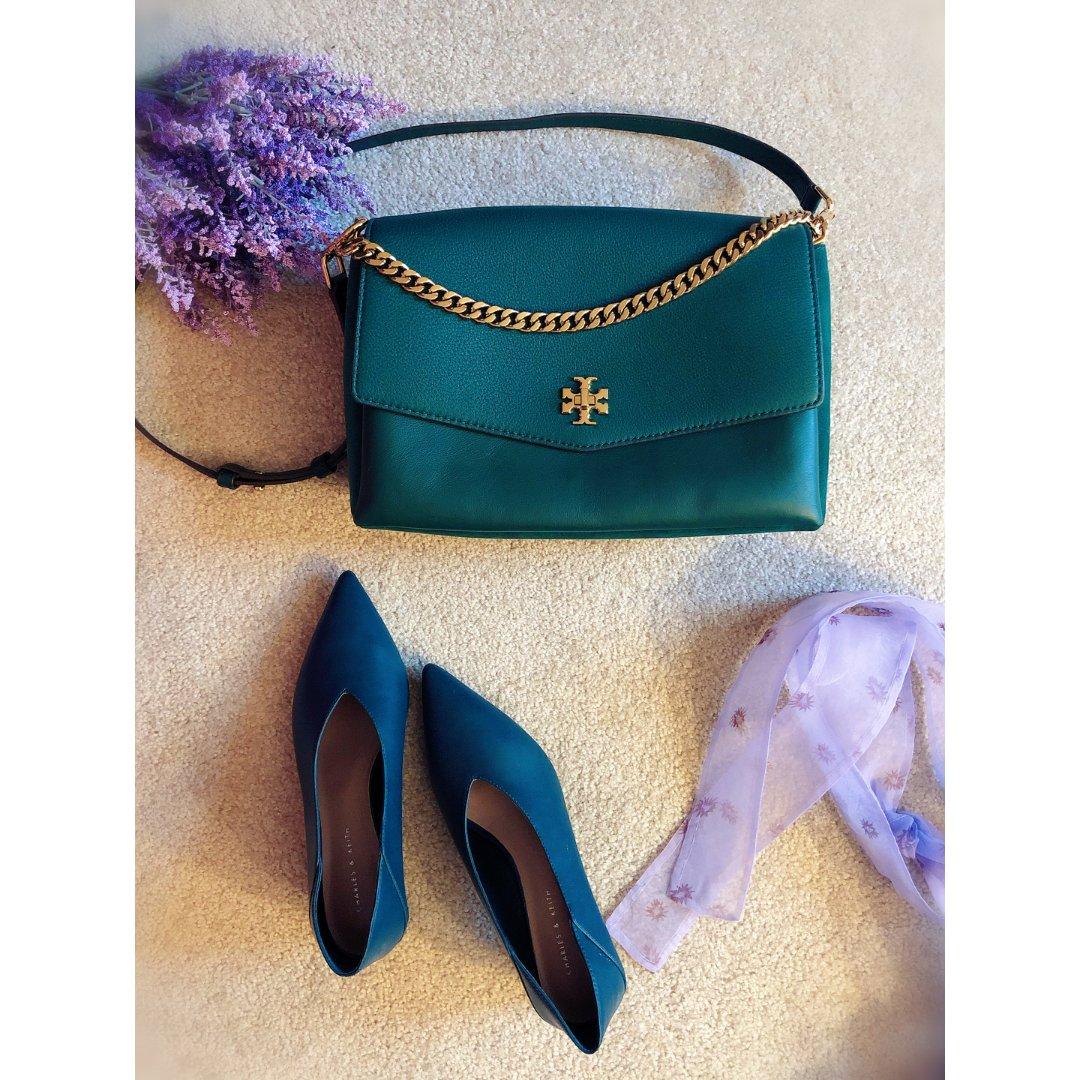 包包鞋子一个色 - 绿