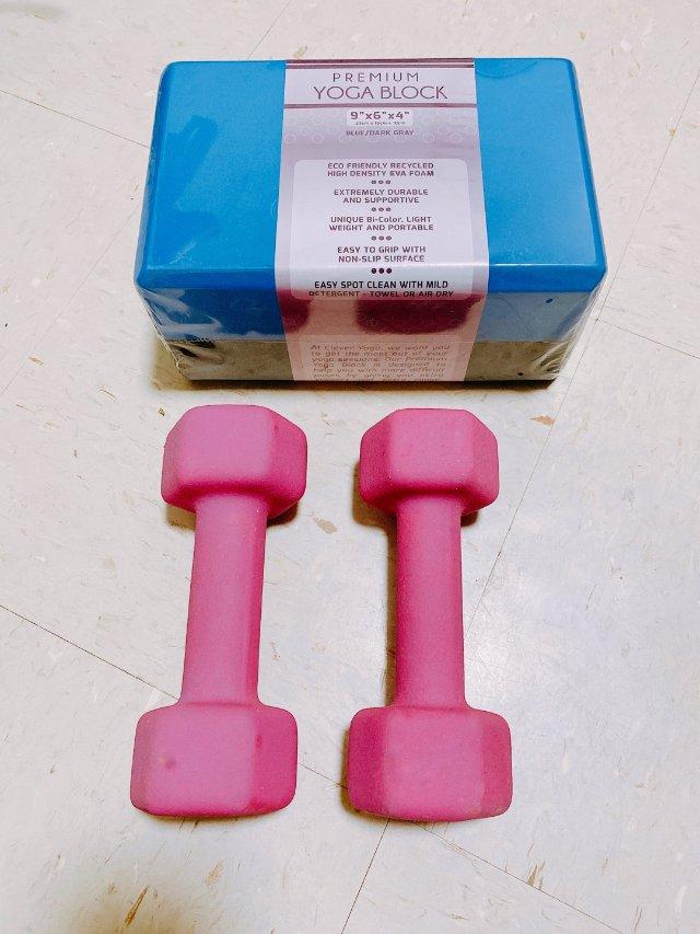 健身装备推荐-哑铃+瑜伽砖|健身打...