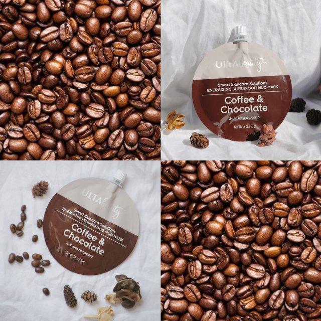 咖啡巧克力面膜,好香!