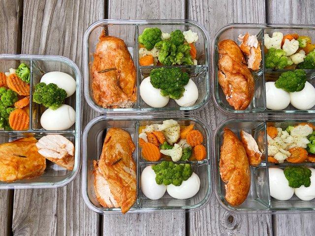 💼上班族减脂餐|新奥尔良烤鸡➕🥚🥬