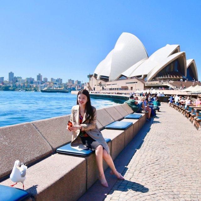 北半球的秋天 南半球的春天 悉尼行记