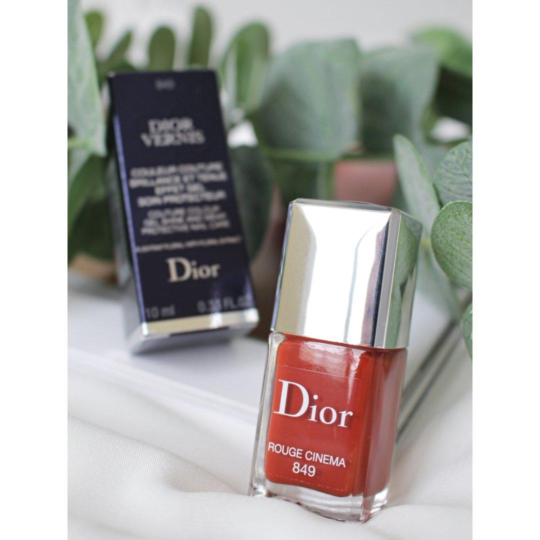 Dior指甲油849 Rouge Cin...