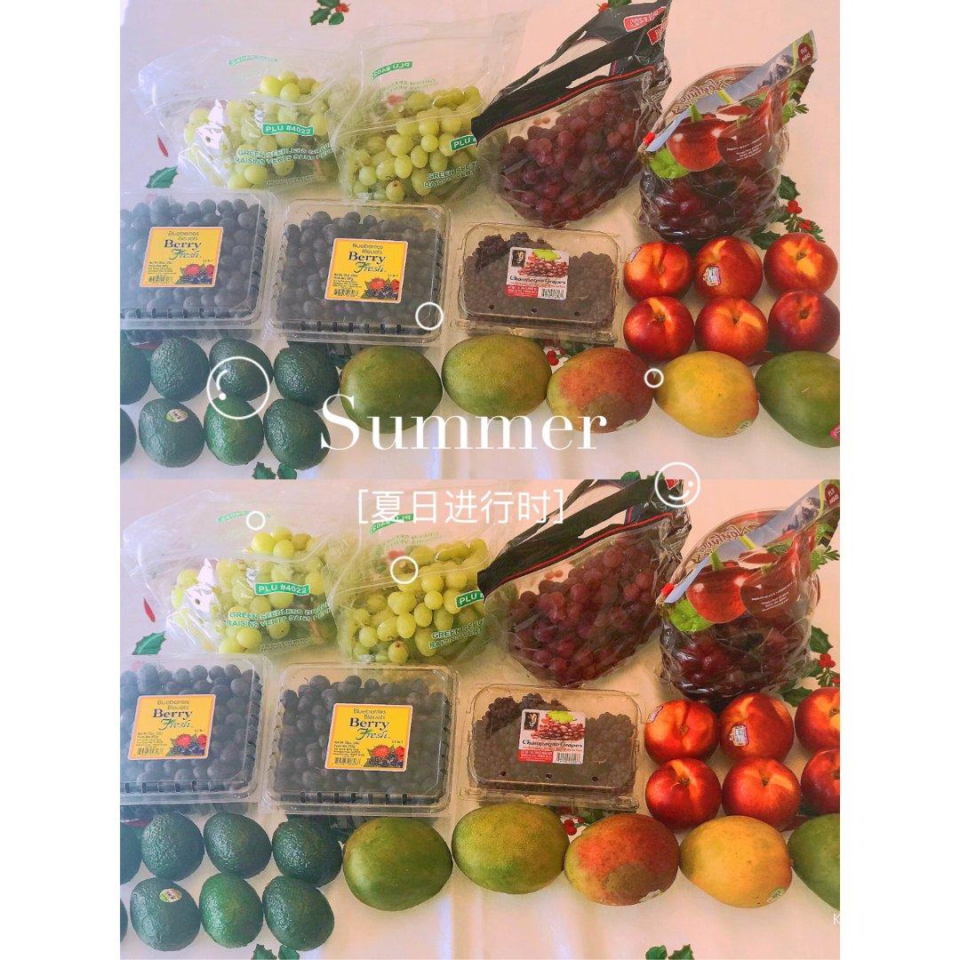 夏天的正确打开方式|超好吃的葡萄买起来🍇