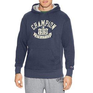 $26Champion Heritage Long Sleeve Fleece Hoodie