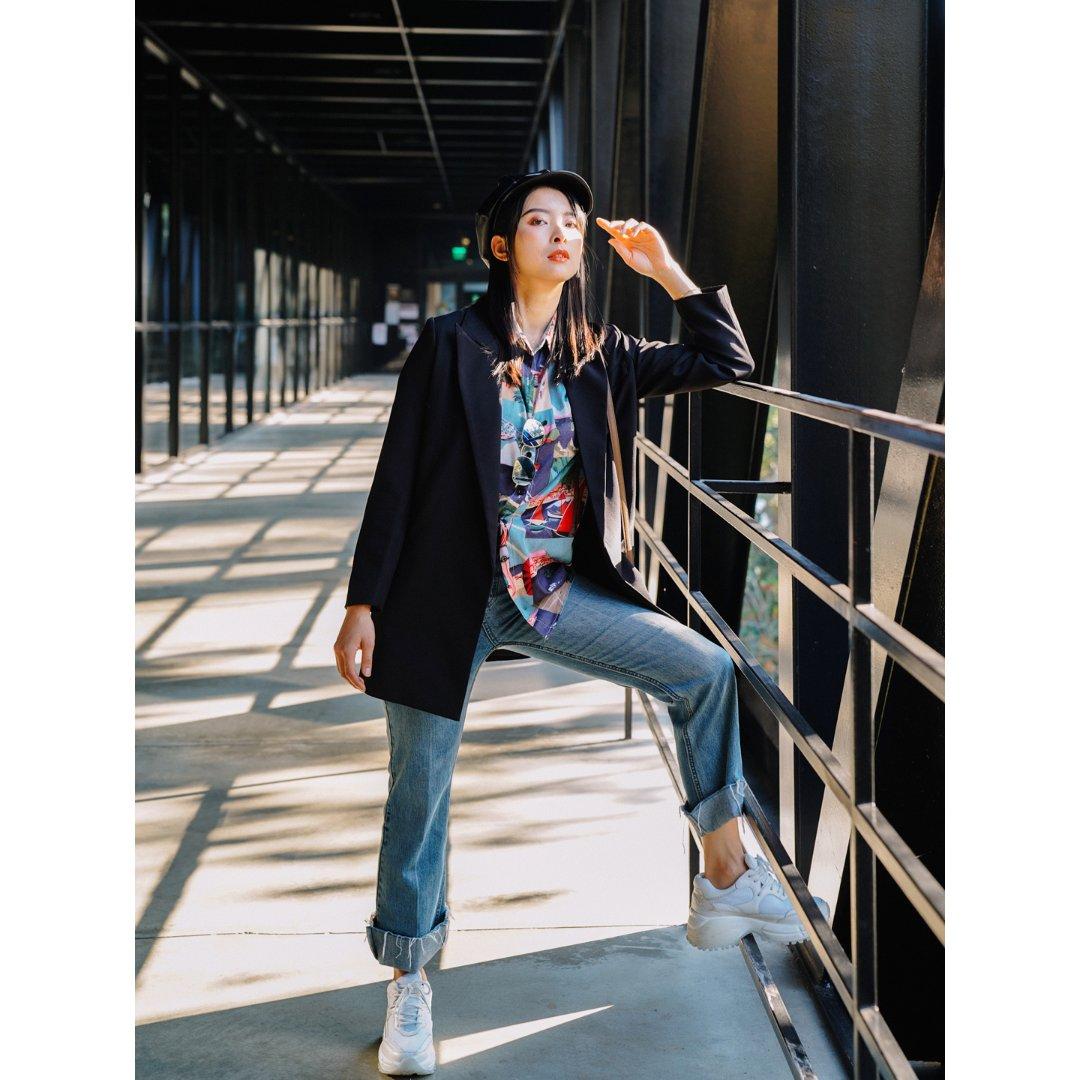 #娜来分享#天冷了外套穿起来当酷酷的仔呀