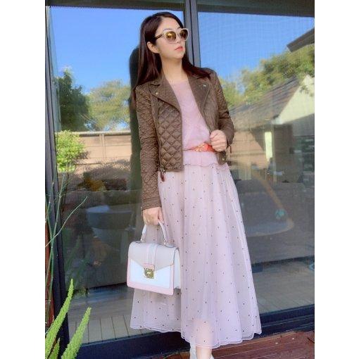 旧衣穿搭分享7~仙女裙也很实穿,春天就要粉粉哒