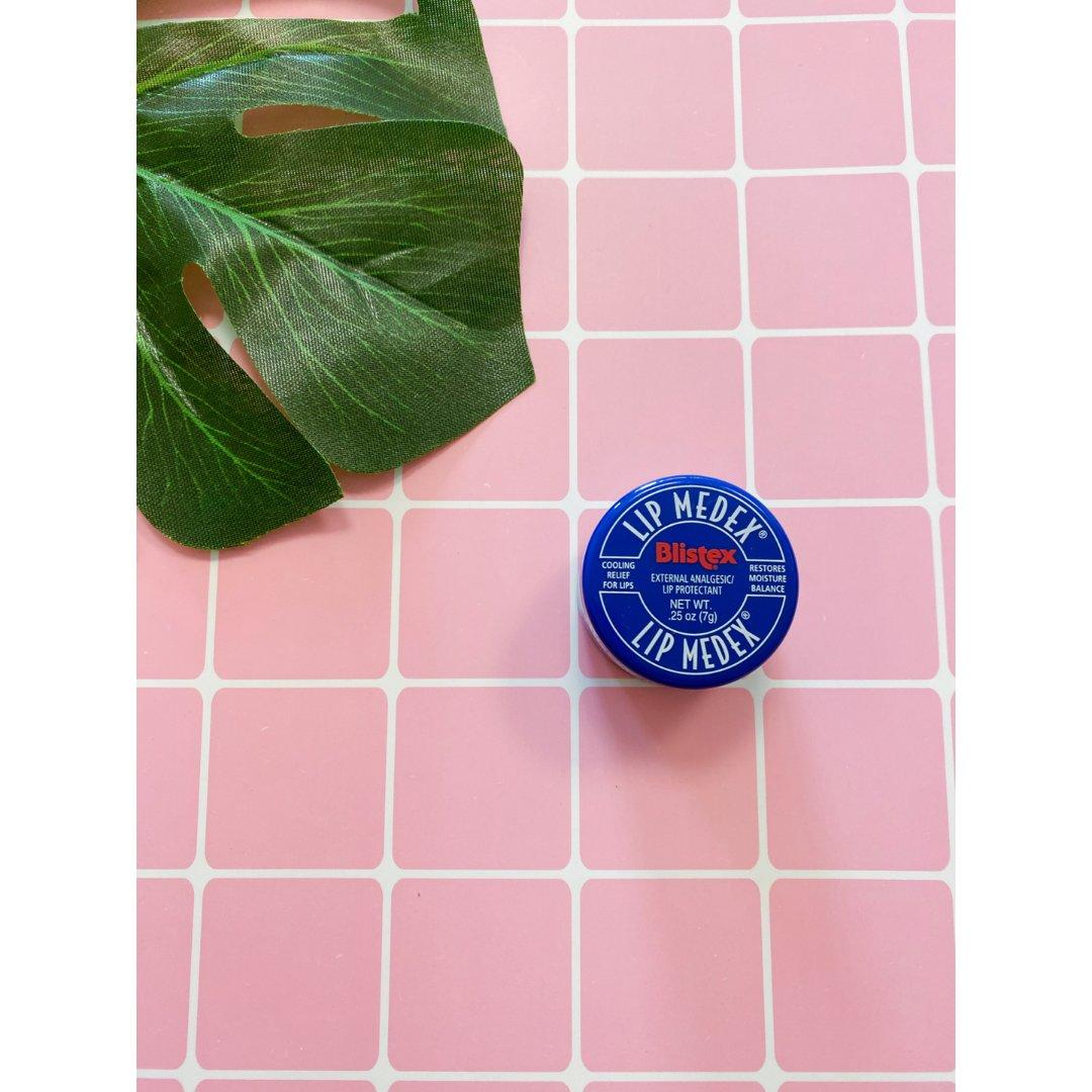 干唇救星丨Blistex 蓝罐润唇膏