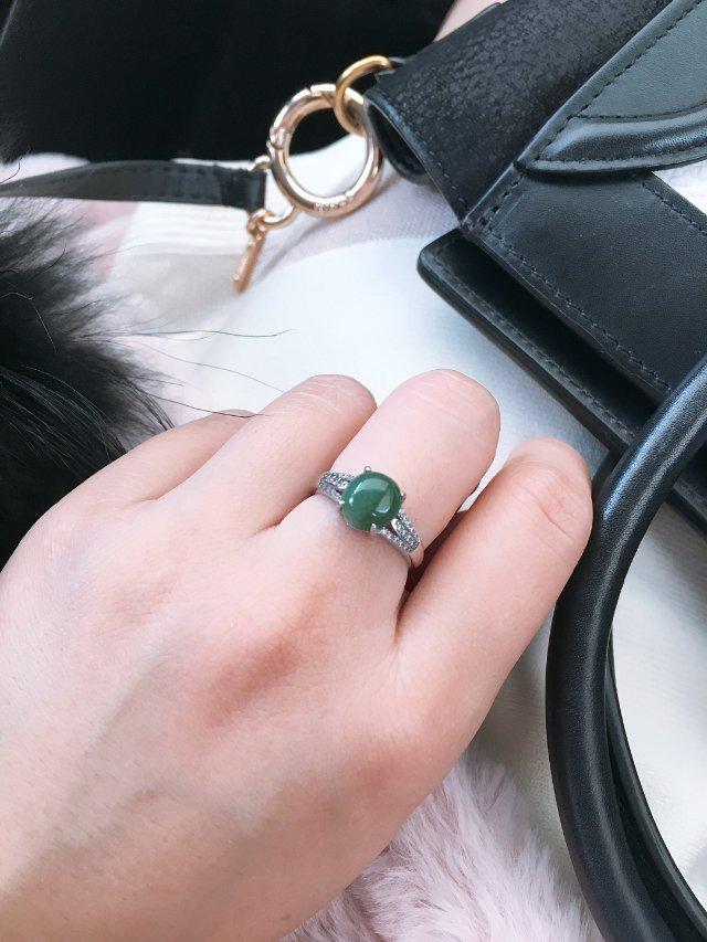 翡翠小戒指