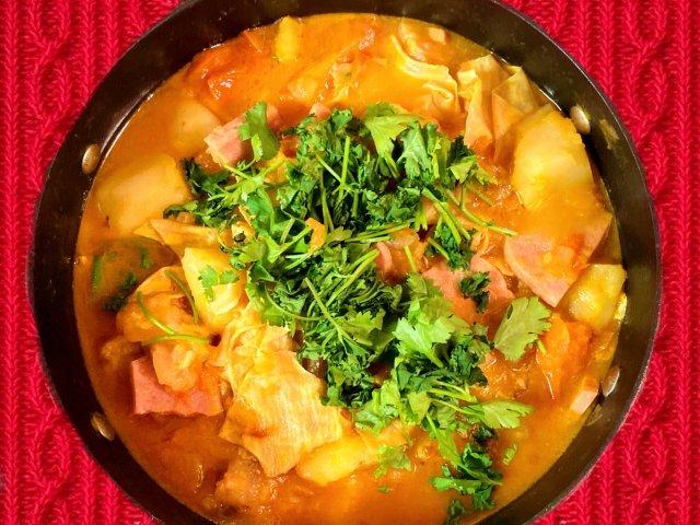 降温了,来一锅暖暖的番茄牛筋锅吧🥰🥰🥰