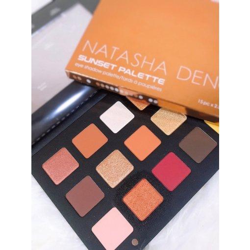 🌅 Natasha Denona日落盘Look
