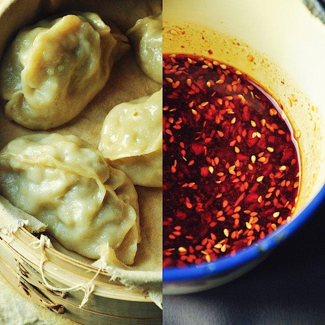 在家复制街头美食~西安酸汤水饺/牛肉蒸饺