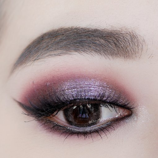 Purple Smokey Eye | 瞎画
