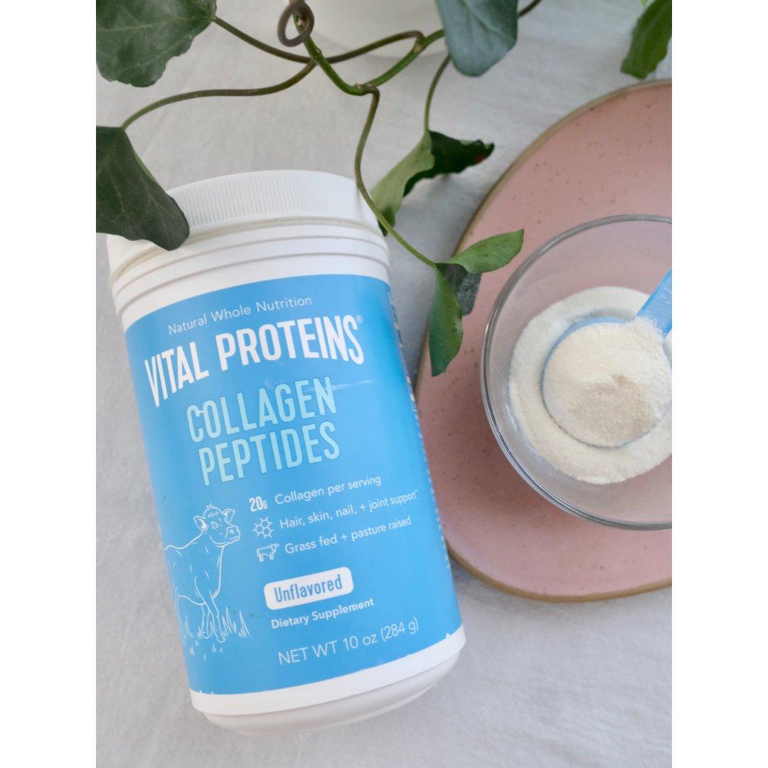 胶原蛋白肽粉,喝出来的健康...
