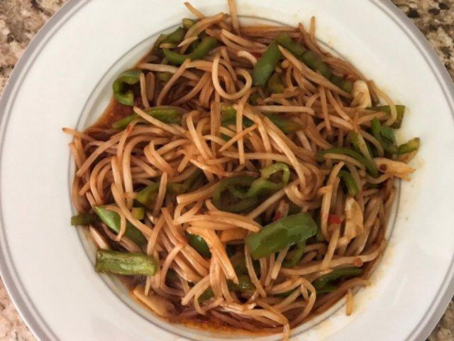 🌤三餐吃什么🌤辣椒炒豆芽