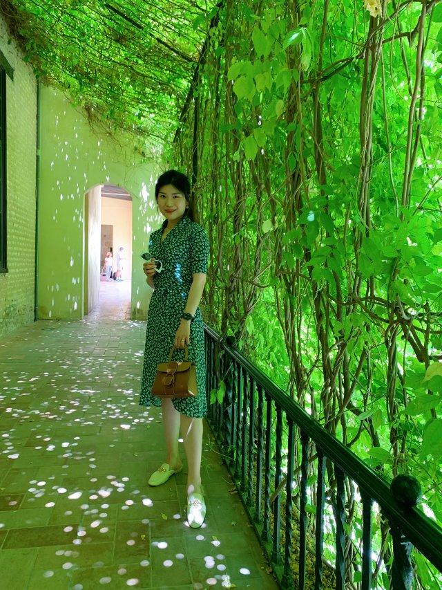 【旅行|塞维利亚】🇪🇸王宫内的一抹绿