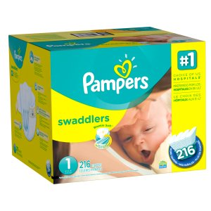 $39.99Pampers Swaddlers Diapers Economy Pack with $5 eGift Card