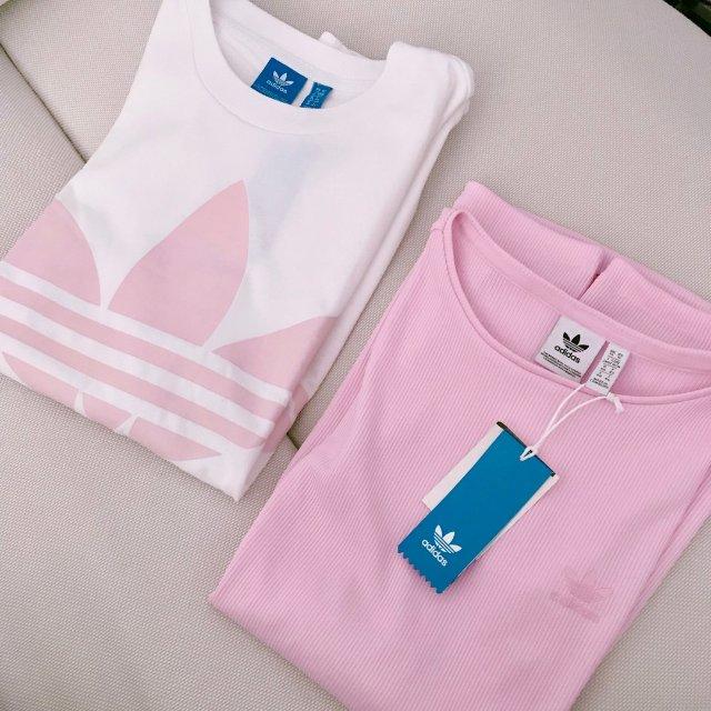 春天来了~又被粉红色的衣服勾起我购...