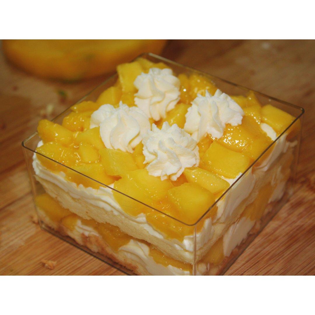 美食攻略 | 芒果奶油盒子蛋糕🍰