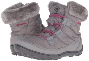 As Low As $21.82Columbia Youth Minx Shorty Omni-Heat Waterproof-K Snow Boot