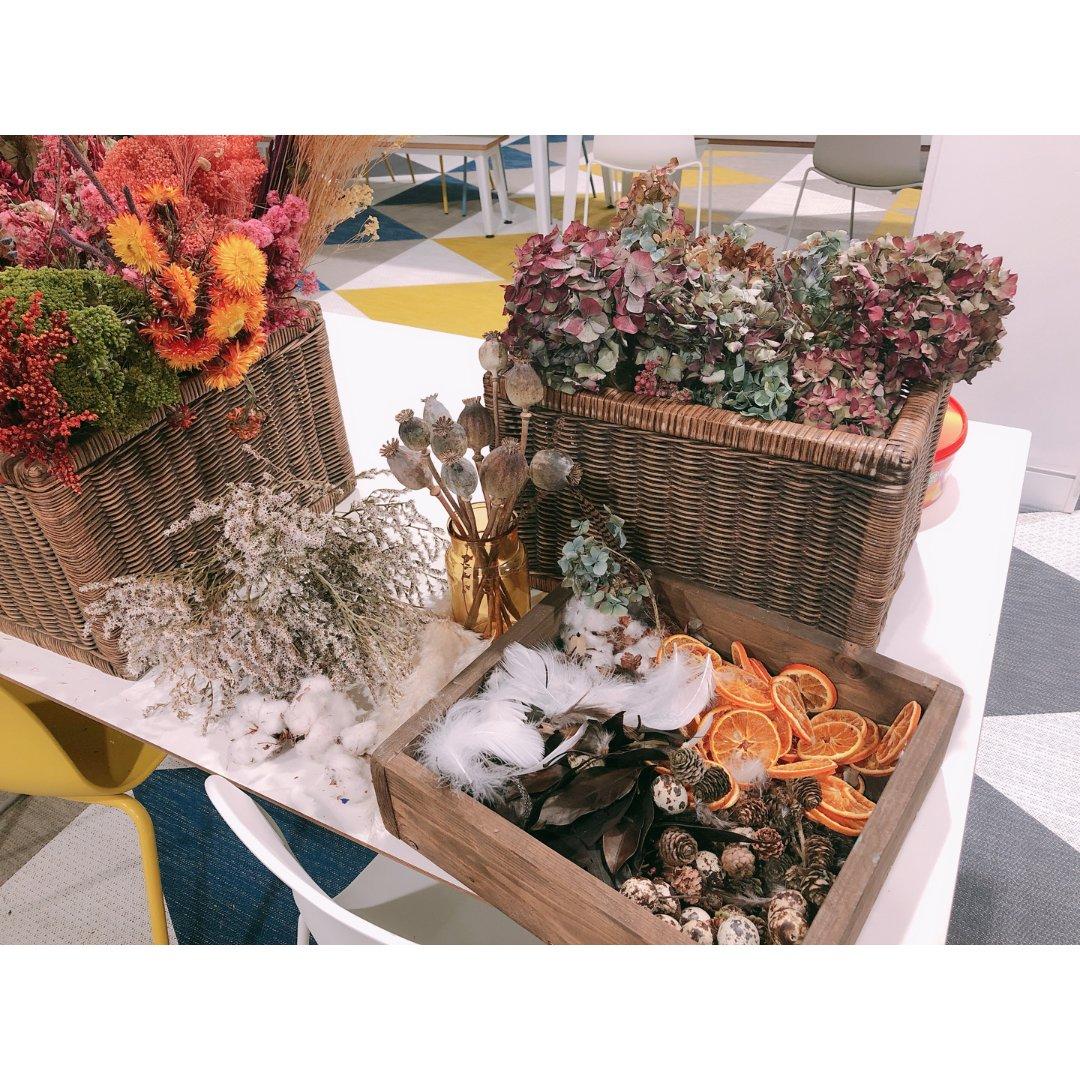 繁花似锦 wreath makings