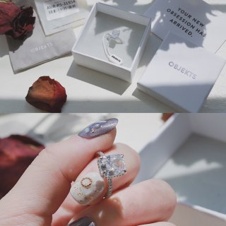 闪耀在指尖的小冰糖💍来自Objekts的精致