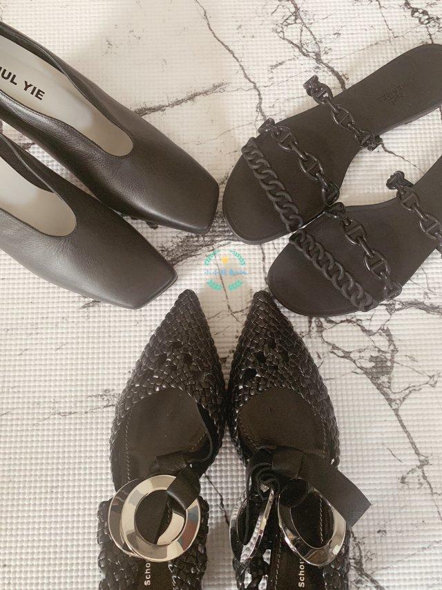 最近黑鞋有点多....