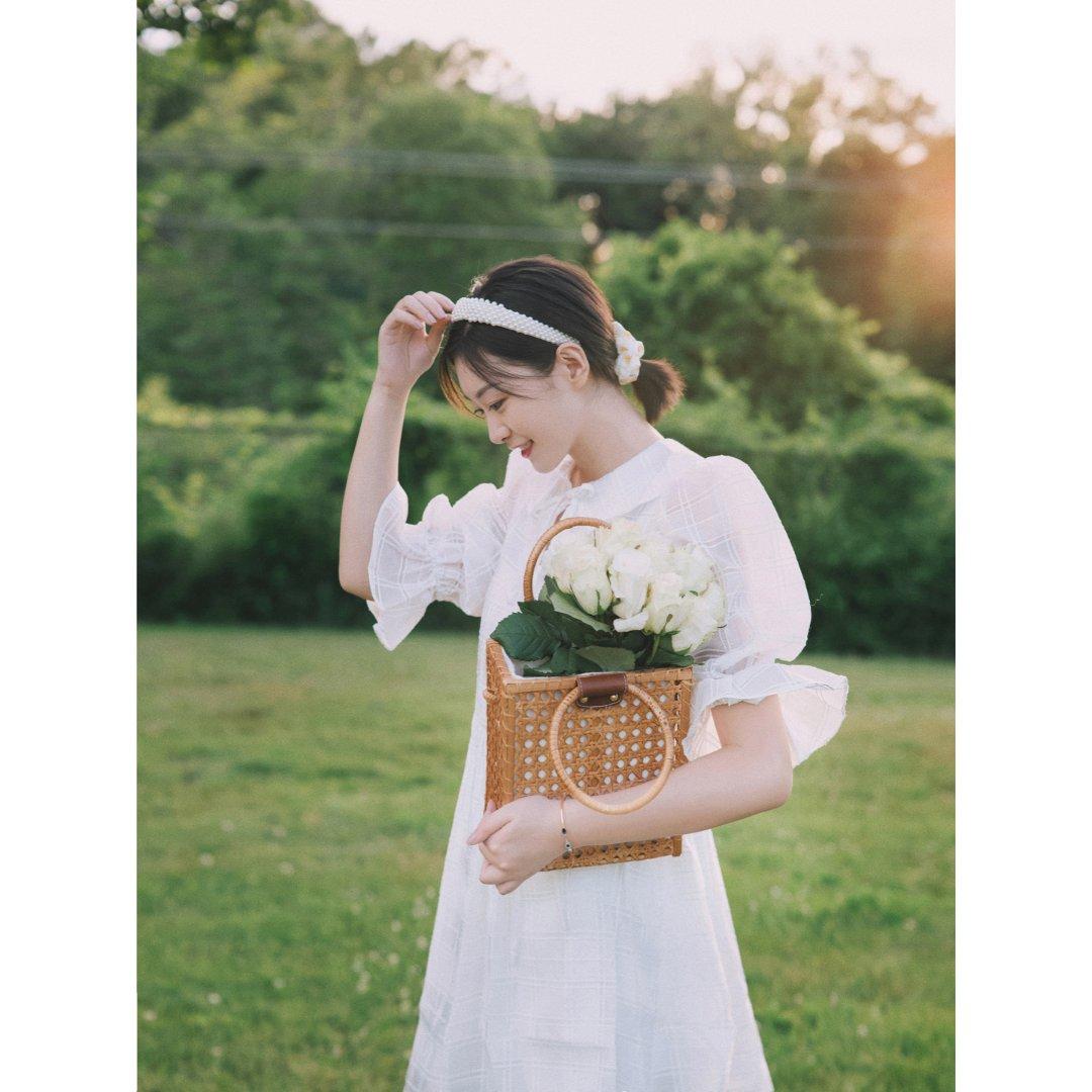 我的穿搭 夏天超上镜的小白裙