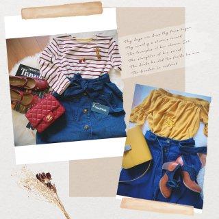 Modcloth复古品牌|牛仔A裙