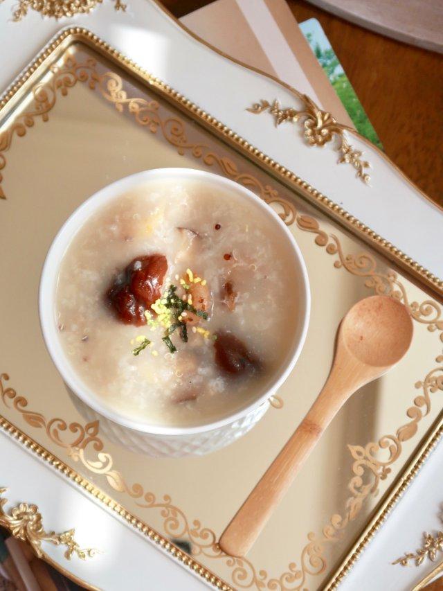 三色藜麦海鲜粥 | 🦐鲜味满满的养生粥品