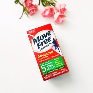 Move Free 维骨力 + MSM关节止疼款 绿瓶120粒 x 2瓶
