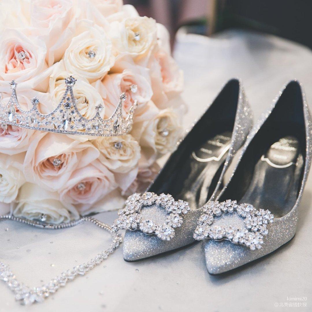 一场婚礼少不了一双好穿又好看的高跟鞋💖